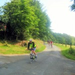 Abfahrt bei Tecklenburg
