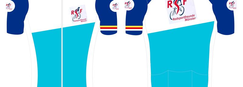 Bestellung von Radsportbekleidung für Vereinsmitglieder